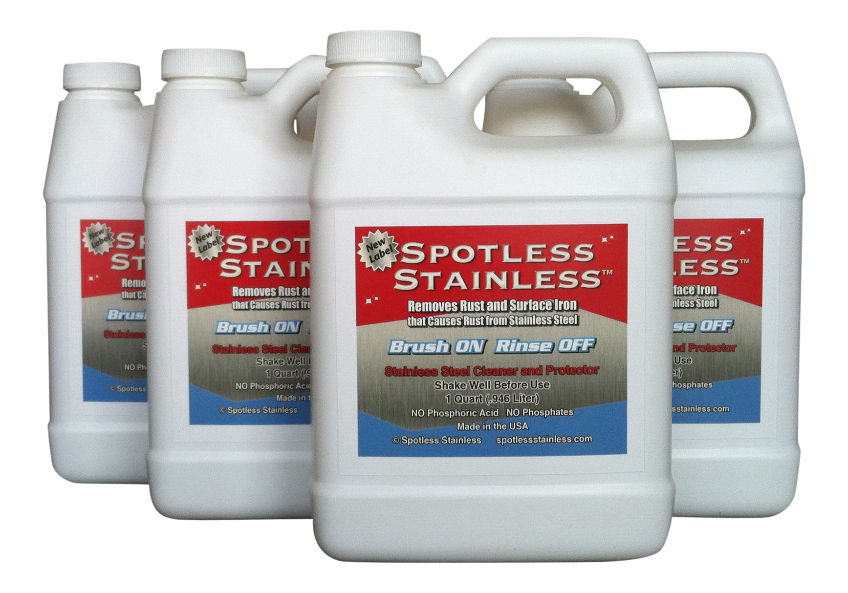 Spotless Stainless - 4 Qt Bundle (Save 10% - Free Shipping USA)
