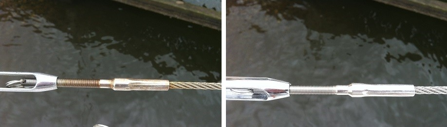 Turnbuckle Before and After